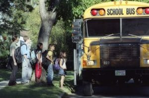Stop Arm Traffic Charges for Man Who Almost Hit Girl Getting on Bus