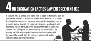 4 interrogation tactics law enforcement use